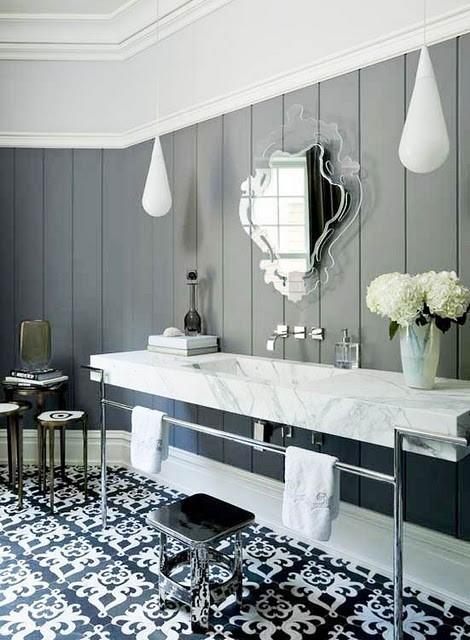 Innovative Art Deco Bathroom Vanity