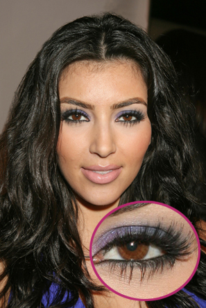 Kim-Kardashian-Long-Eyelashes