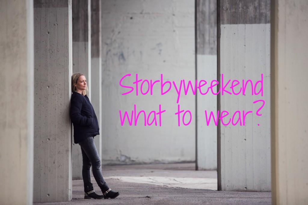 Storbyweekend