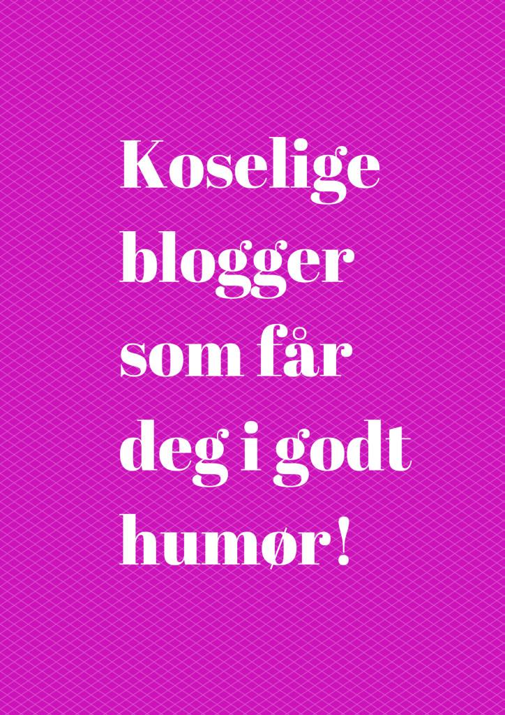 Koselige bloggersom får deg i godt